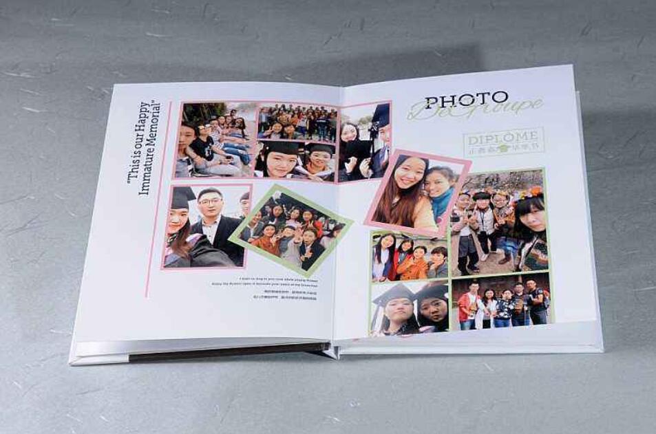 毕业纪念册图片