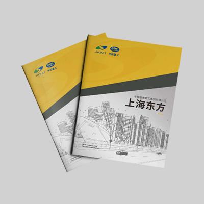 上海东方船舶重工集团画册设计印刷